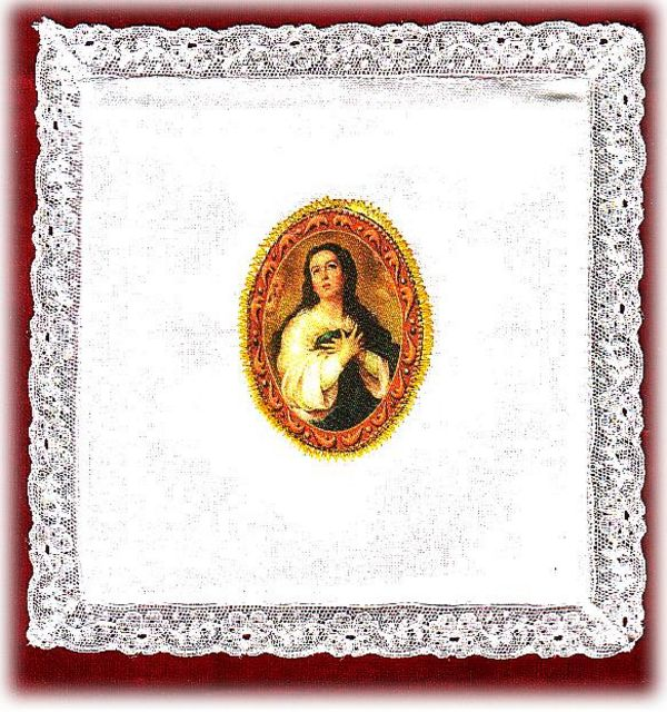 Mass Pall - With Religious Image