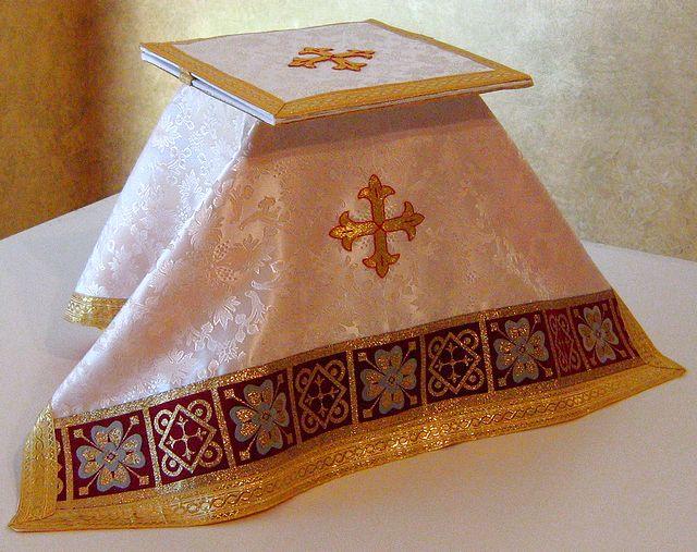 Catholic Chalice Burse and Veil