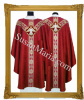 Semi-Gothic Vestments RED with Holy Ghost Emblem