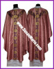 Semi Gothic Vestments in Rose church fabric