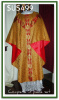 Semi-Gothic European Vestments GOLD ONLY