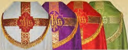 Copes in all Liturgical Colours