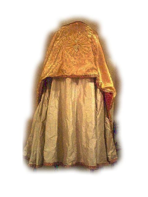 Cope, Pure Silk, With Humeral Veil