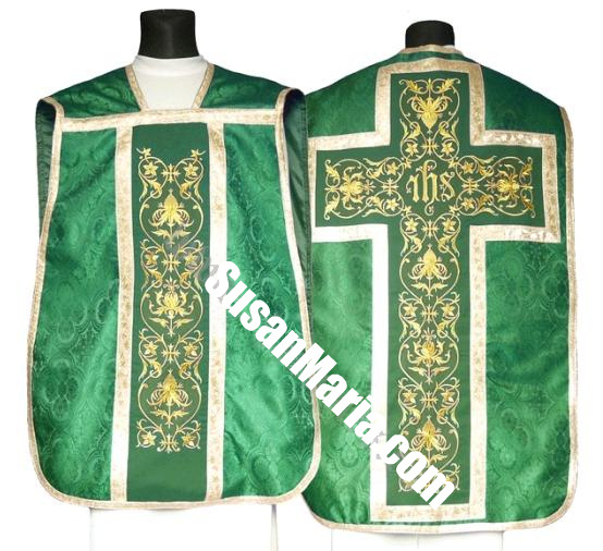 Roman Vestments from Europe with Ornate Embroidery