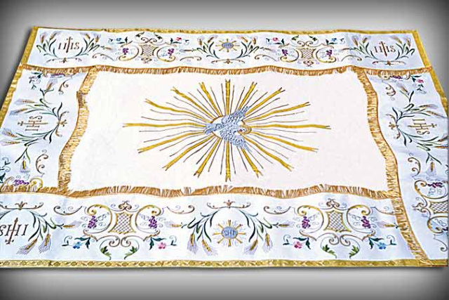 Embroidered Processional Canopy 5934