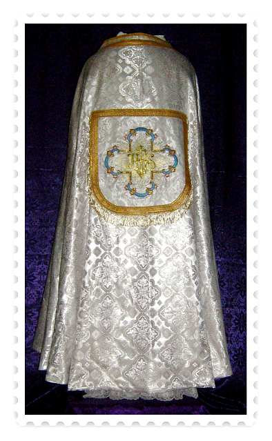 Stunning Traditonal design Marian themed Cope.
